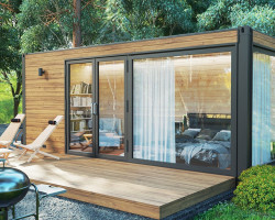 Insulated garden pod PopUpHut