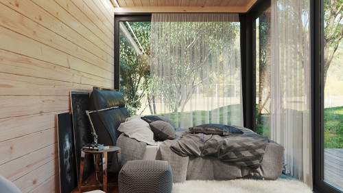 Insulated summer house