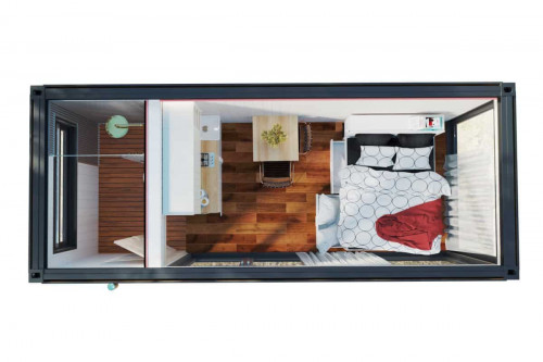 Tiny House Bliss top view