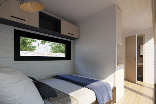 Container accommodation cabin with shower room V 2 interior