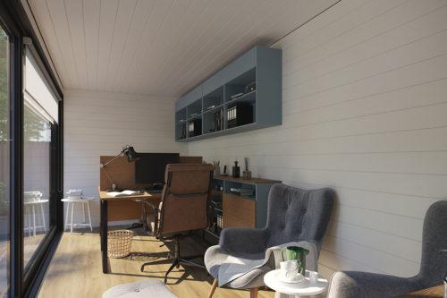 Container cabin V 5 interior