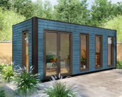 Container garden office V 1 Blue