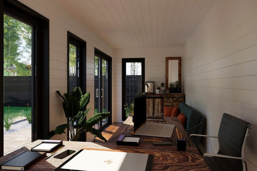 Container garden office V 1 interior 1