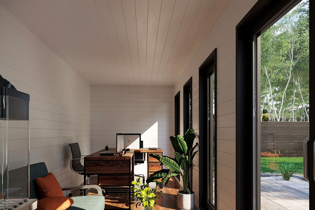 Container garden office V 1 interior design 1