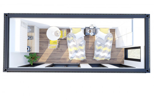 Container garden room V 4 floorplan