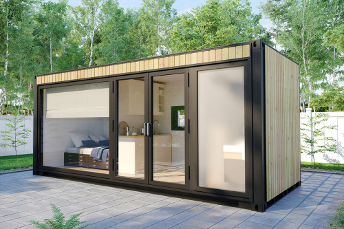 Container house accommodation cabin with shower room V 3