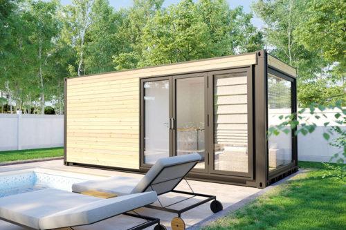 Container Sauna Cabin V7