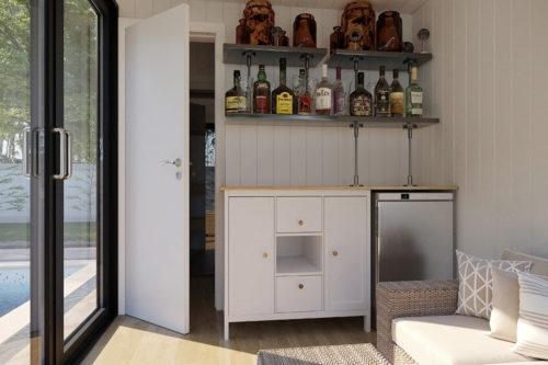 Sauna Cabin V7