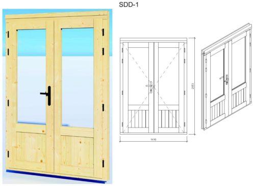 Garden room door SDD-1