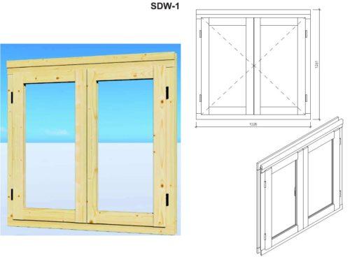 Garden room window SDW-1