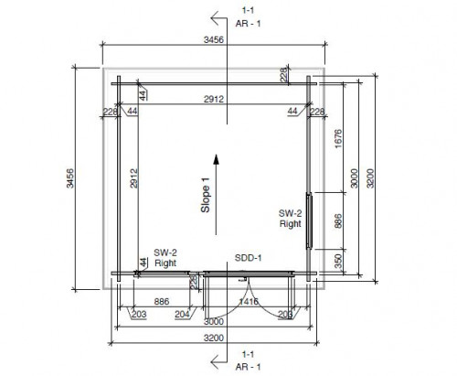 Mini office 2 floorplan