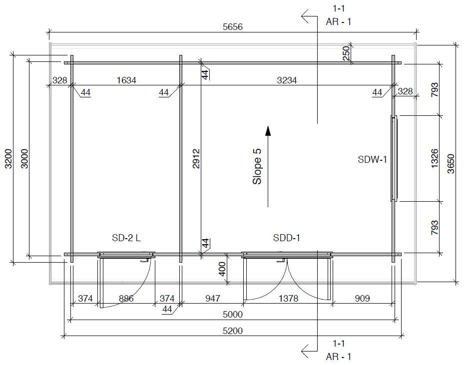 Super Tom DS Floorplan