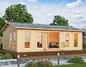 Premium Garden Log Cabins