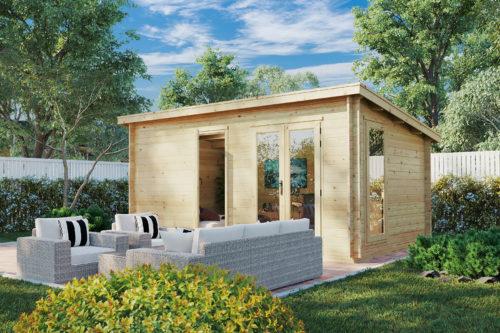 Wooden Garden Office Ryan DS